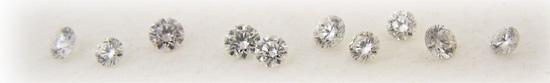 ジュエリーリフォーム時に使うべき綺麗なメレダイヤの選び方