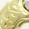 イエローゴールドつや消し手彫りリングへリフォーム
