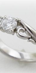 旦那様所有のダイヤのメンズジュエリーからリフォームした奥様の指輪