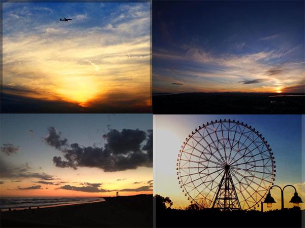 夕焼け空、オーダーメイドジュエリーのイメージコンセプト