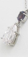 ダイヤモンド、色石ペンダントネックレスへの口コミ