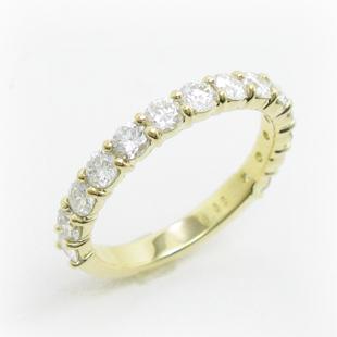 取り巻きのメレダイヤをエタニティリングへのイメージ