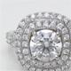 婚約指輪をティファニーソレスト風取り巻きダイヤリングへリフォーム