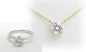ダイヤモンドプチネックレスの画像