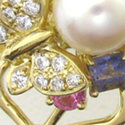 使わなくなった大量の小さなジュエリーからリフォーム制作した指輪