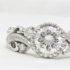 ダイヤモンドプラチナリングのリフォーム例。デザインサンプル